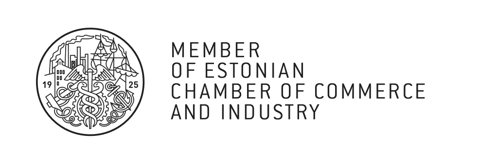 Member of Estonian Chamber of Commerce and Industry
