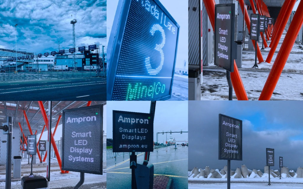 LED Variable Message Signs for Traffic and Parking Solutions