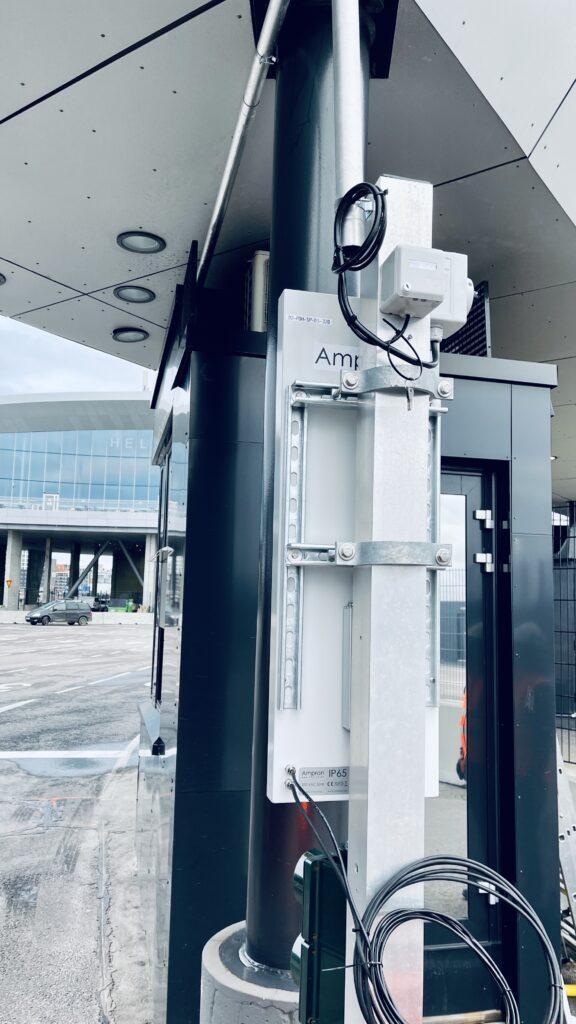 Last Mile LED Digital Wayfinding improvement at Port of Helsinki in Finland