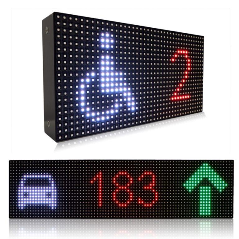 Ampron LED message boards for parking