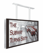 """Ampron Outdoor LCD/TFT displays 49"""" Single Sided"""